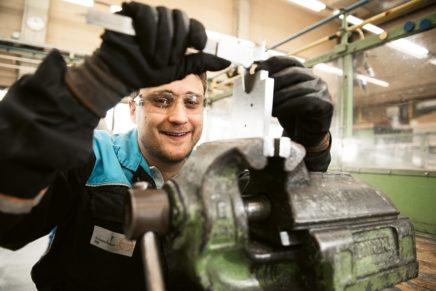 Robin: Wird Industriemechaniker bei der Covestro AG in Brunsbüttel