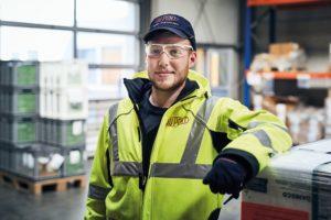 Felix: Wird Fachkraft für Lagerlogistik bei DuPont Danisco