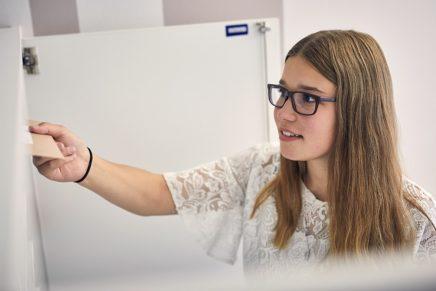 Lea-Sophie: Wird Kauffrau für Büromanagement bei DuPont Danisco