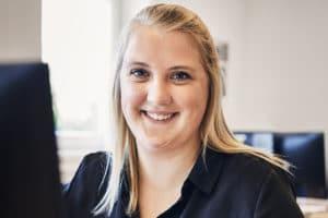 Laura: Wird Kauffrau für Groß- und Außenhandel bei DuPont Danisco
