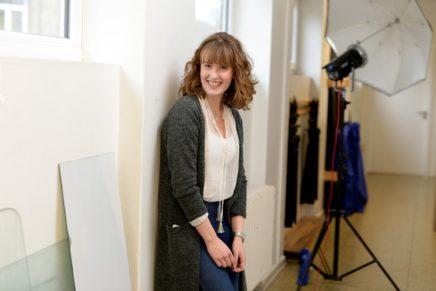 Amira: Wird Designerin an der Berufsfachschule für Design in Kiel