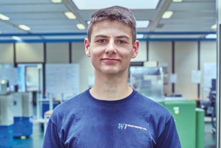 Luca: Wird Elektroniker für Betriebstechnik bei den Stadtwerken Kiel