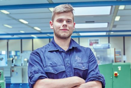 Mike: Wird Elektroniker für Betriebstechnik bei den Stadtwerken Kiel