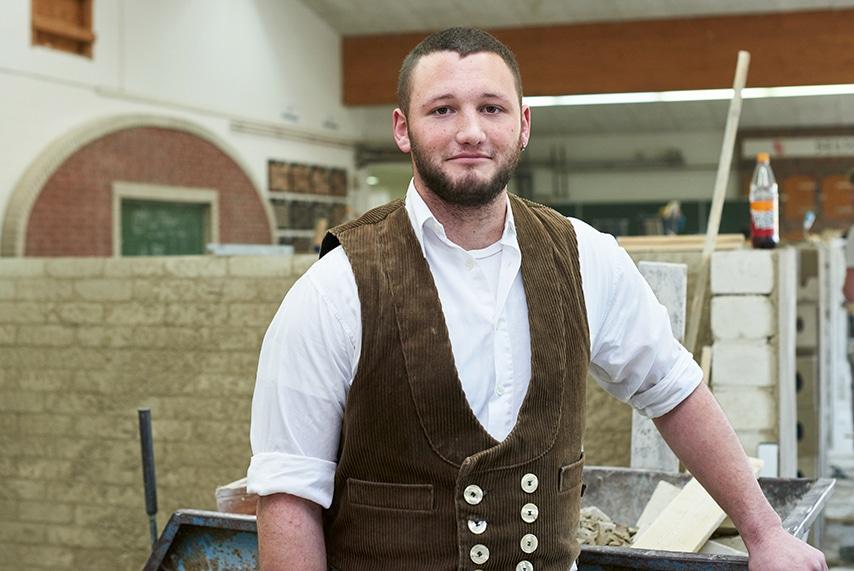 Mark-Hendrik: Wird Straßenbauer in der Kreishandwerkerschaft Heide