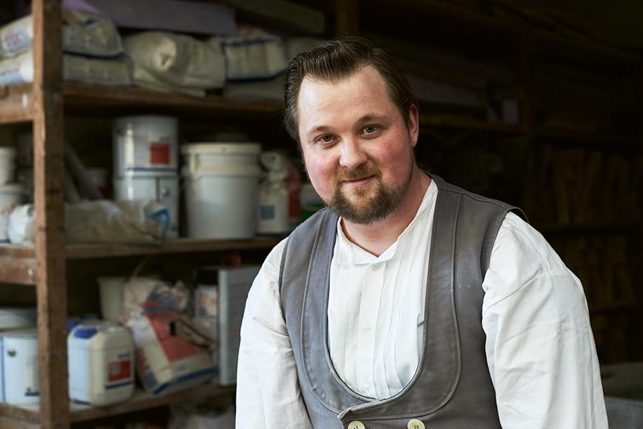 Ron: Wird Maurer in der Kreishandwerkerschaft Heide