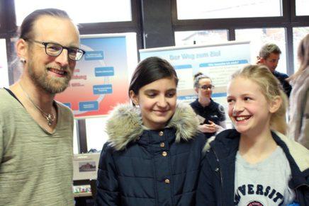 Berufswahlmesse Leck – Im Zeichen der Schüler