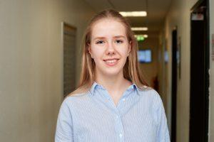 Laura: Wird Industriekauffrau bei TOTAL Bitumen
