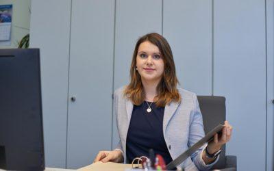 Carolin Prochnow ist Verwaltungsfachangestellte beim Amt Mitteldithmarschen