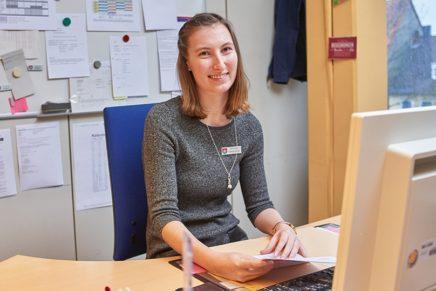 Patricia: Wird Verwaltungsfachangestellte bei der Stadtverwaltung Elmhorn