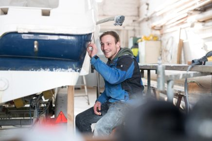 Leidenschaft für maritimes Handwerk – Bootsbauer/in