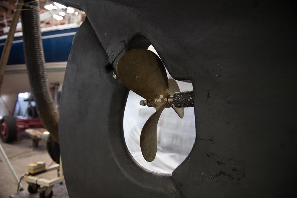 Werft Schiffsschraube, Bootsbau