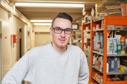 Daniel: Wird Elektroniker für Energie- und Gebäudetechnik bei Elektroanlagen RW GmbH