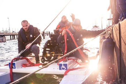 Auf's Wasser mit Handicap: Das Bootsbauprojekt