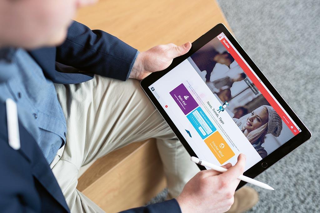 Digitalisierung bei der Studiale der Förde Sparkasse
