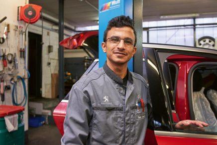 Taha: Wird KFZ-Mechatroniker bei der Firma Schwerdtfeger