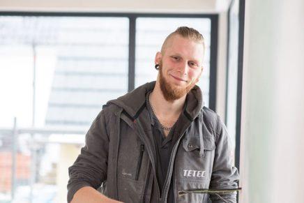 Peer-Ole: Wird Elektroniker für Energie- und Gebäudetechnik bei der TETEC GmbH