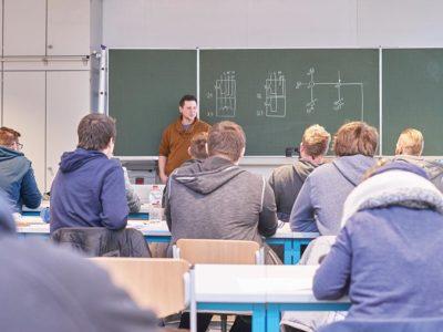Unterricht am BBZ Norderstedt