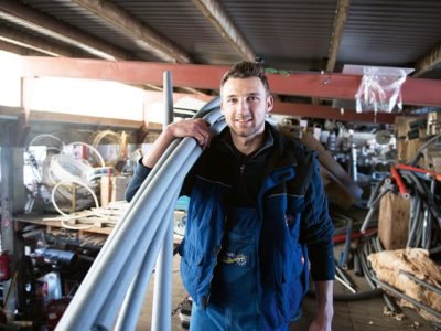 Henrik wird Anlagenmechaniker für Sanitär-, Heizungs- und Klimatechnik
