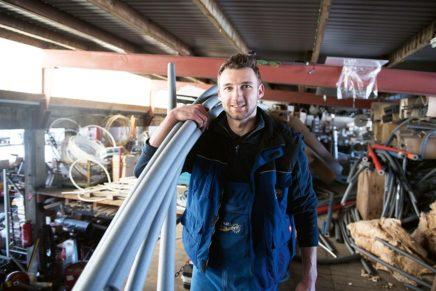Henrik: Ausbildung zum Anlagenmechaniker für Sanitär-, Heizungs- und Klimatechnik bei der Karl Ehlert GmbH