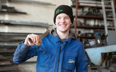Lars wird Land- und Baumaschinenmechatroniker