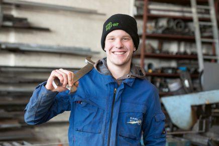 Lars: Wird Land- und Baumaschinenmechatroniker bei der Karl Ehlert GmbH