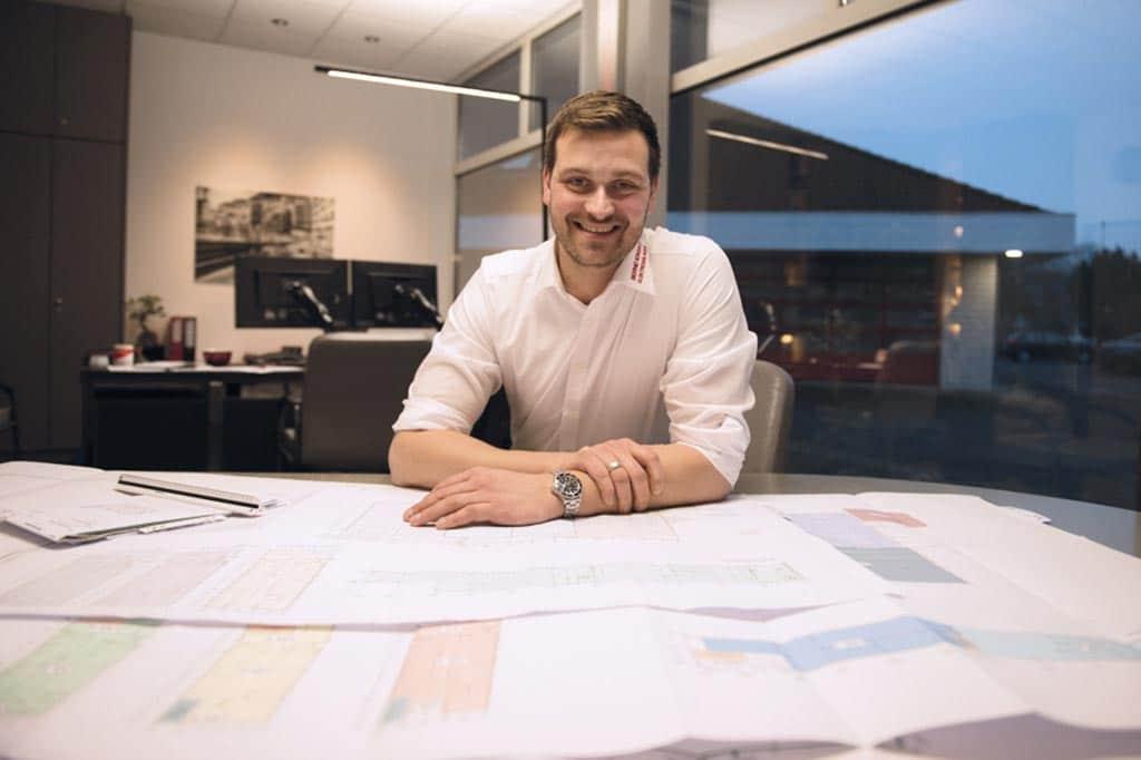 Firmenchef Michel Ickert von Bernd Ickert Elektroanlagen