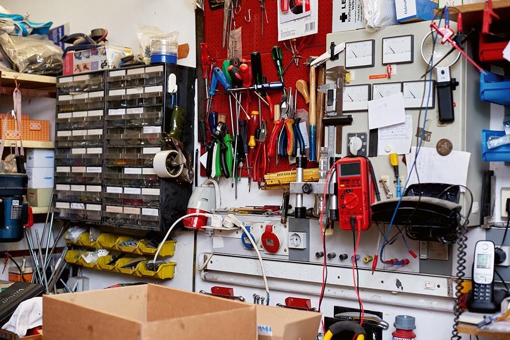 Werkstatt bei Wittorff Elektroinstallation