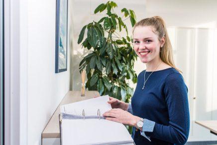Cecilia: Wird Industriekauffrau bei den Schleswiger Stadtwerken