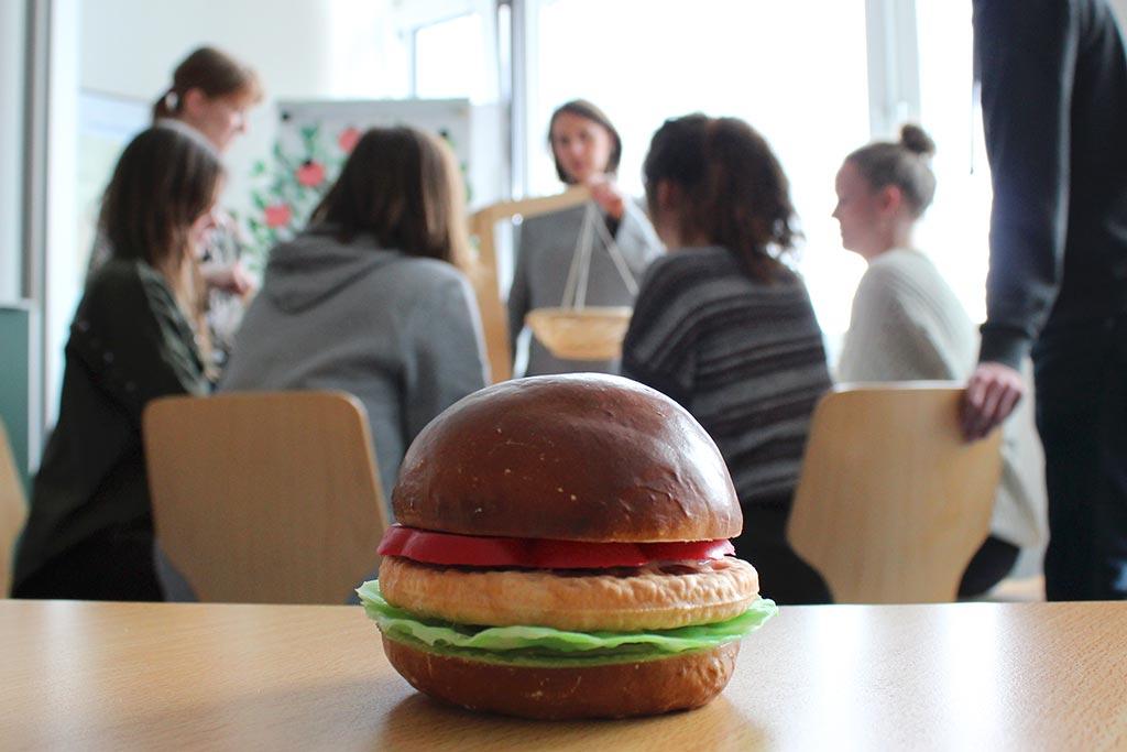 Der Teilstudiengang 'Gesundheit und Ernährung' an der EUF