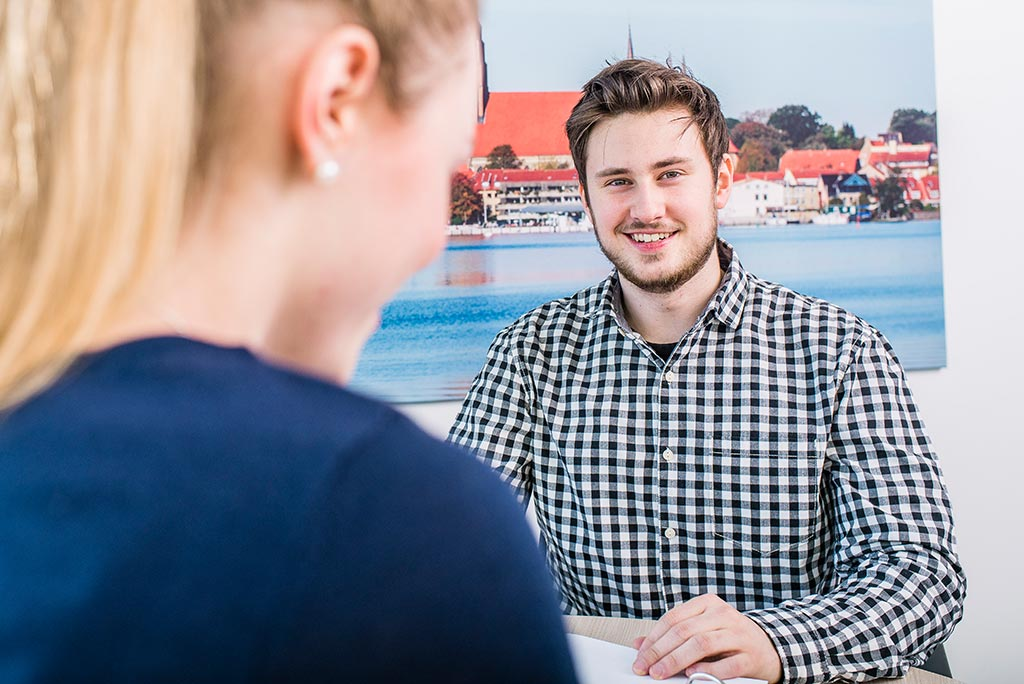Florian: Wird Industriekaufmann bei den Schleswiger Stadtwerken