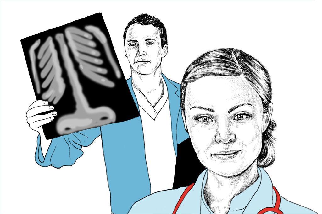 Auch die Medizin gehört zu den Life Sciences.