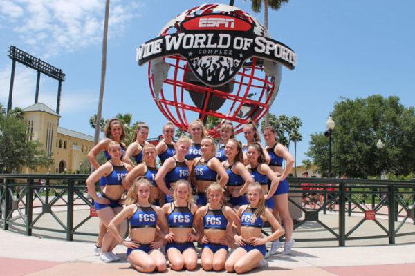 Die Frisian Cheer Stars bei den Cheerleading Worlds