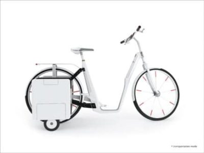 Preisgekröntes Fahrrad der muthesius Kunsthochschule