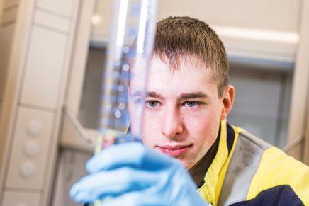 Tobias: Wird Fachkraft für Abwassertechnik bei den Schleswiger Stadtwerken
