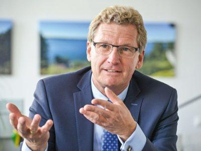 Wirtschaftsminister Bernd Buchholz