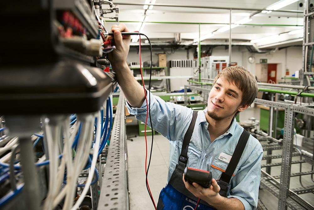 Covestro Elektroniker für Automatisierungstechnik