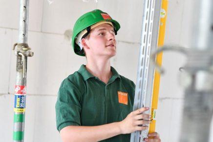 Marc: Zimmerer bei der Firma Kähler Bau GmbH