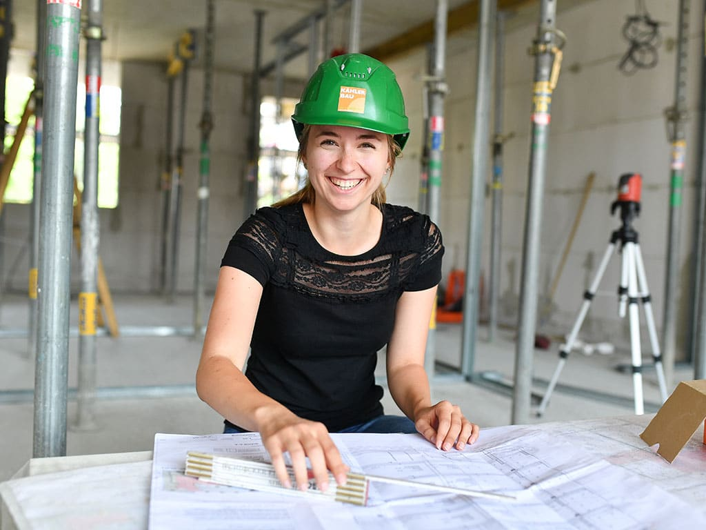 Anna: Bauingenieurwesen bei Kähler Bau GmbH