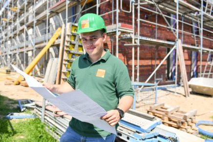 Lasse: Bauleiter bei Kähler Bau GmbH