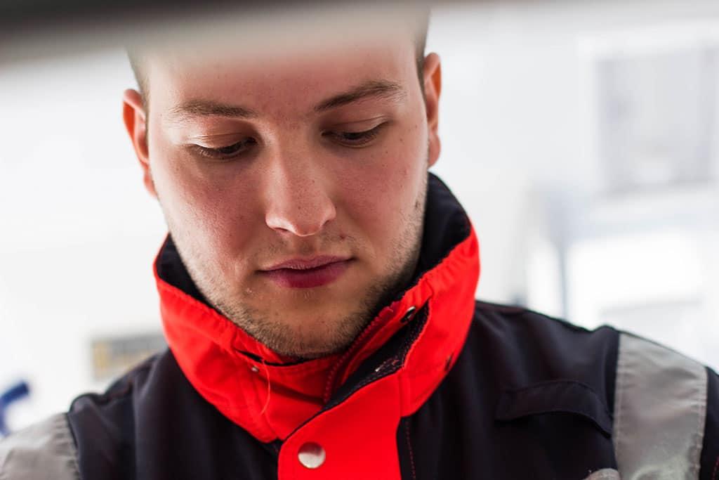 Ben: Notfallsanitäter beim Rettungsdienst Nordfriesland