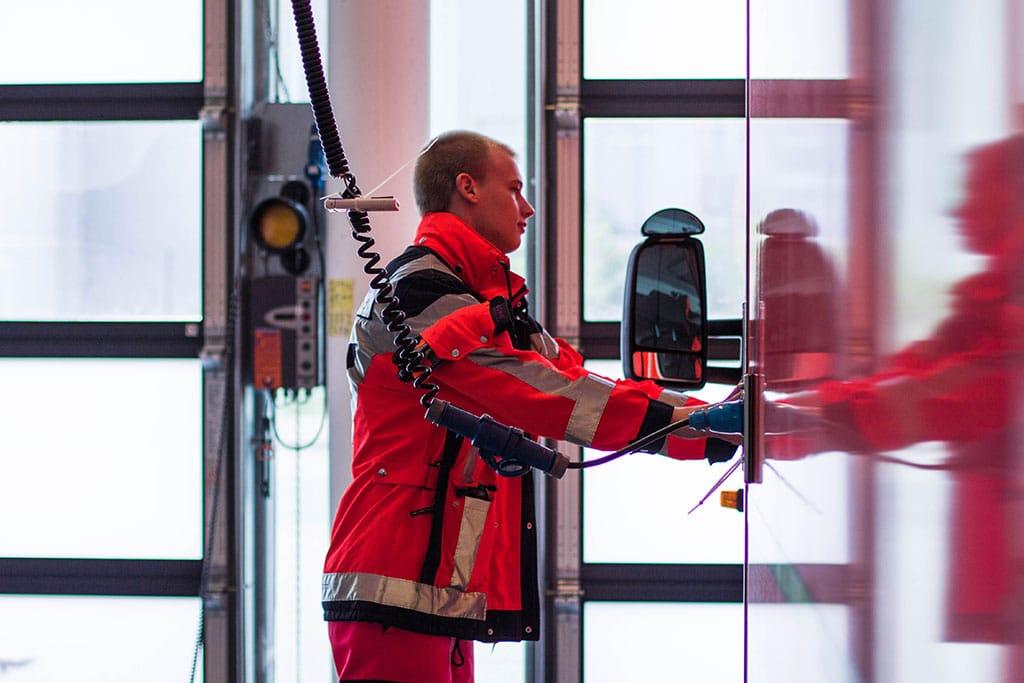 Jannek vom Rettungsdienst Nordfriesland