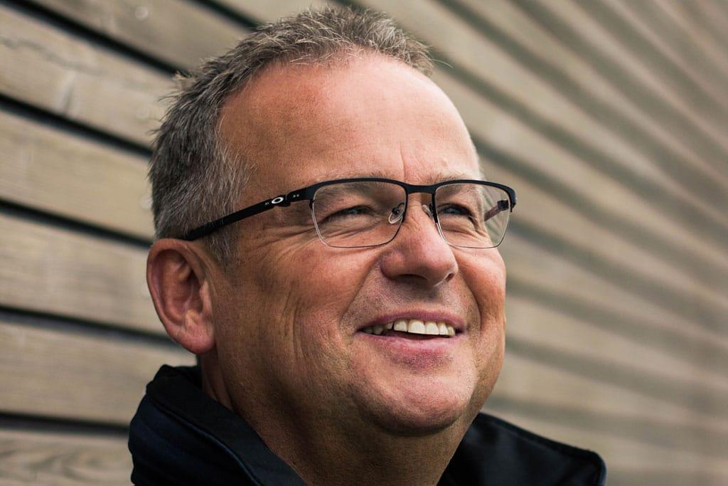 Jens-Peter Lindner vom Rettungsdienst Nordfriesland