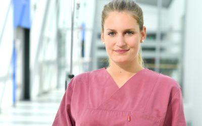Gesundheits- und Krankenpflegerin