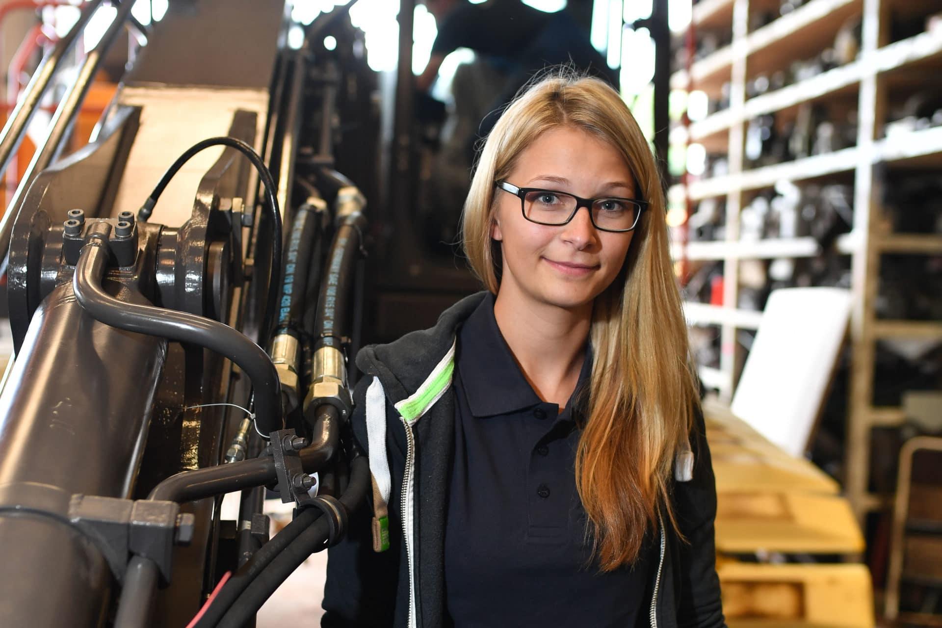 Juniorchefin Karoline Jaster
