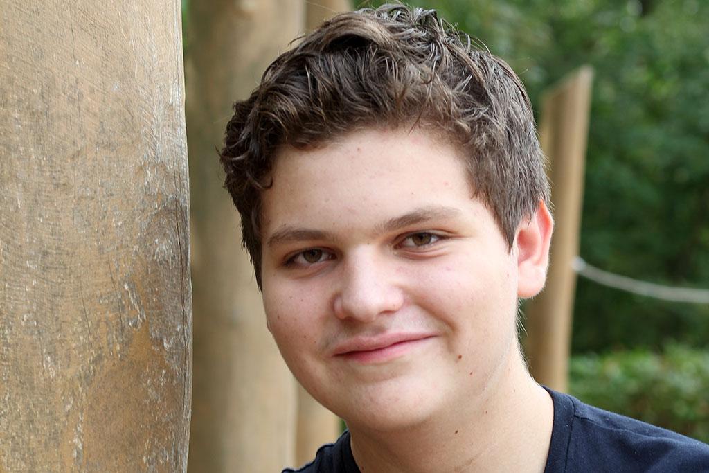 Anton besucht die Nordseeschule und beantwortet die Schülerfrage