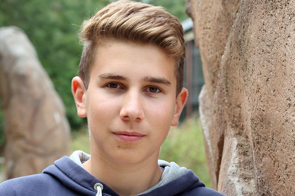 Stefan besucht die Nordseeschule und beantwortet die Schülerfrage