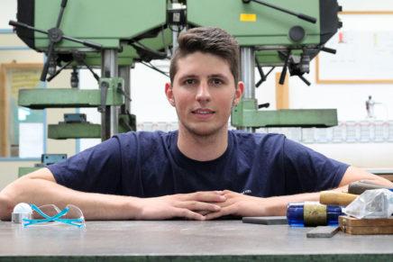 Tom: Industriemechaniker bei den Stadtwerken Kiel