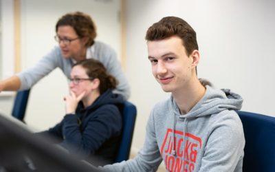 Jan-;alte studiert Bauingenieurwesen an der FH Kiel
