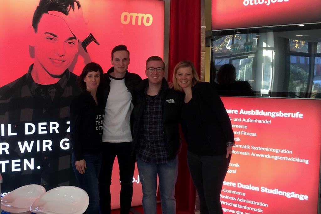 Das Team von OTTO beim BBZ Norderstedt