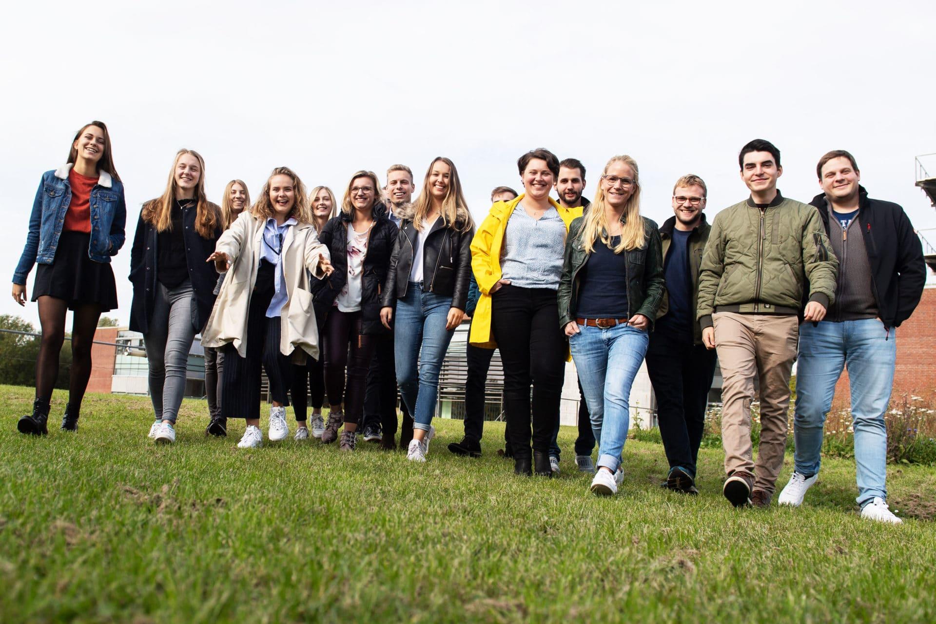 Studierende der FH Westküste in Heide